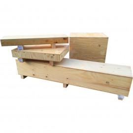 Caisse bois contreplaqué petite dimension sur mesure